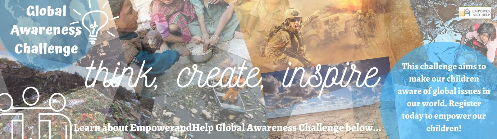 What is EmpowerAndHelp Global Awareness Challenge 2020 ?
